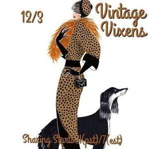 THURSDAY 12/3 Vintage Vixens Sign Up Sheet